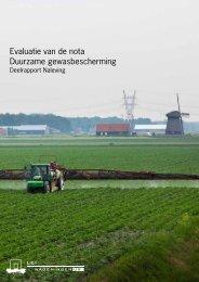 Evaluatie van de nota Duurzame gewasbescherming