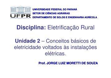 (Microsoft PowerPoint - U02 - Conceitos b\341sico de eletricidade ...