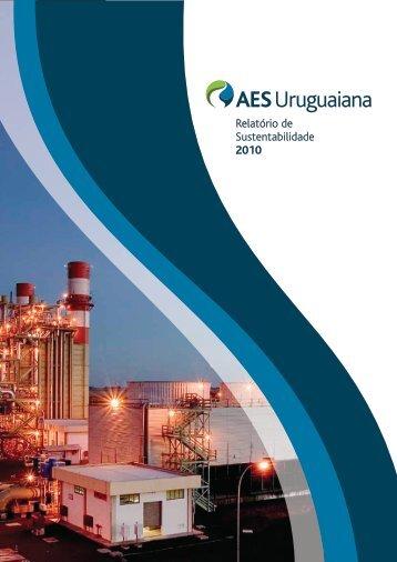 Relatório de Sustentabilidade 2010 - AES Brasil Sustentabilidade