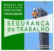 Manual de Fiscalização – SEGURANÇA DO TRABALHO - Crea-RJ