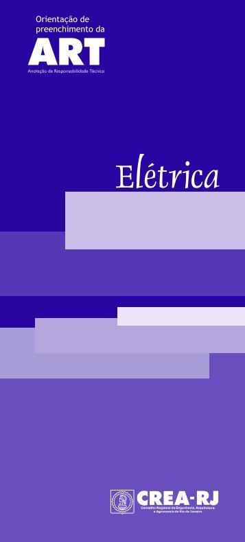 Manual Elétrica - Crea-RJ
