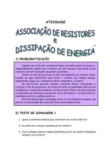 Associação de Resistores - Propostas para o Ensino de Física