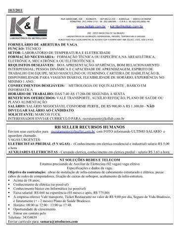 RH SELLER RECURSOS HUMANOS - Cedup.com.br