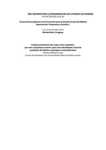 Innovación académica en la Formación para l - ULACAV