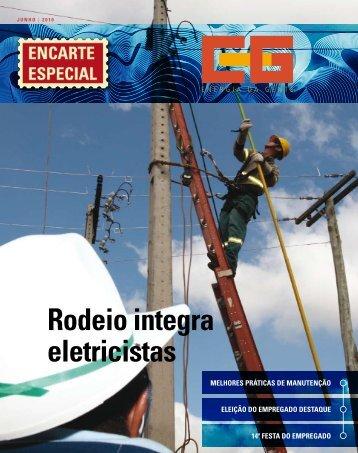 rodeio integra eletricistas - Cemig