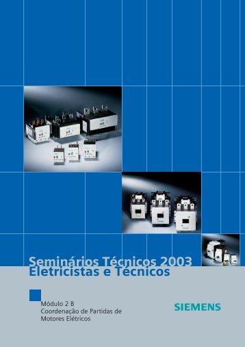 Seminários Técnicos 2003 Eletricistas e Técnicos - HD UTIL