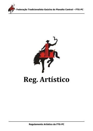 Regulamento Artístico - Federação Tradicionalista Gaúcha do ...