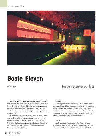 Boate Eleven - Lume Arquitetura