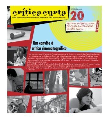Um convite à crítica cinematográfica - Associação Cultural Kinoforum
