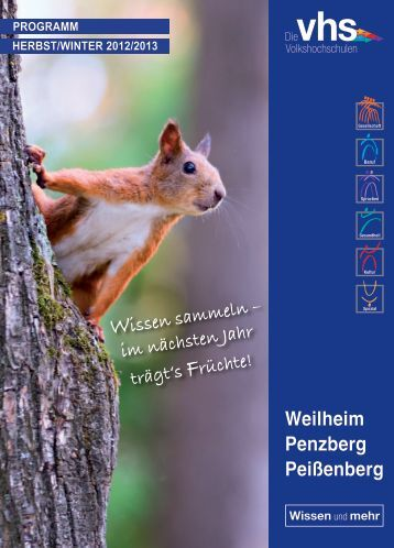 Weilheim Penzberg Peißenberg - VHS Peißenberg