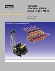 Comando Direcional Múltiplo Séries ML15 e MD15 - Hydraser