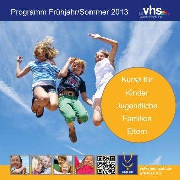 "Sonderheft ""junge vhs, Familenkurse, Eltern-Uni"" (PDF, 1"