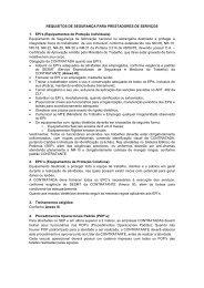 REQUISITOS DE SEGURANÇA PARA ... - Rede Energia