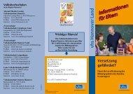 Informationen für Eltern - vhs Hannover Land