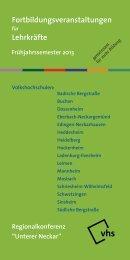 Broschüre zum download (PDF) - Volkshochschule Heidelberg