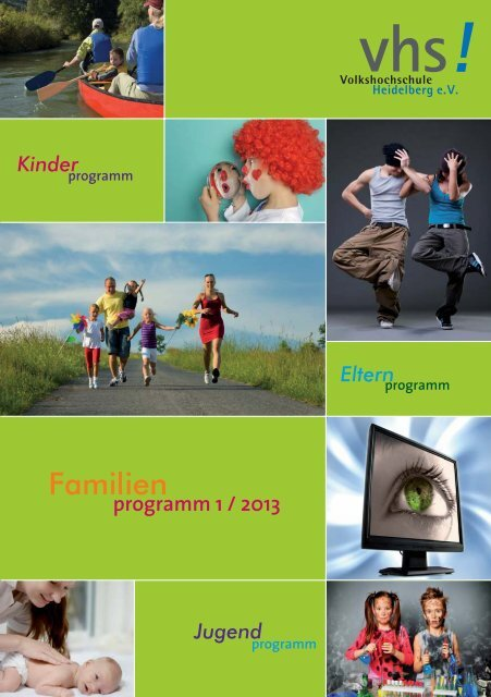 Familienprogramm (PDF) - Volkshochschule Heidelberg