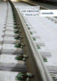 low VibRAtion tRAck (lVt) - Vigier Rail AG