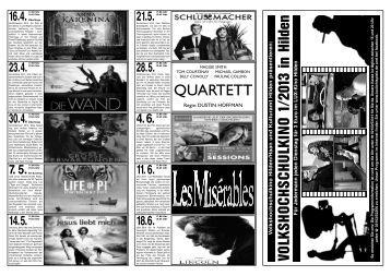 finden Sie das VHS-Kinoprogramm 1. Halbjahr 2013