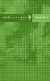 Frühjahr 2012 - VHS Lindau