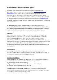 telc Zertifikate Fremdsprachen - vhs Mainz