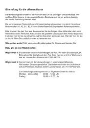 Einstufungstest Deutsch als Fremdsprache B2-C1