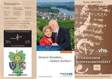 Flyer 2012/13 zum Download... - vhs Rheingau-Taunus eV