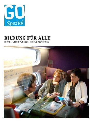 Spezial - Volkshochschule Reutlingen GmbH