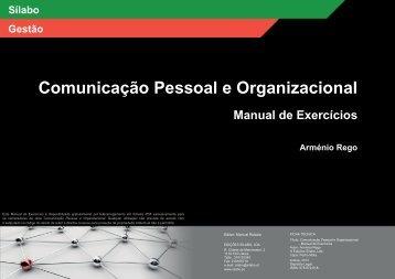 Comunicação Pessoal e Organizacional - Edições Sílabo