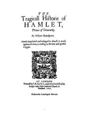 Hamlet - eBooksBrasil