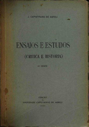 ENSAIOS E ESTUDOS - Brasiliana USP