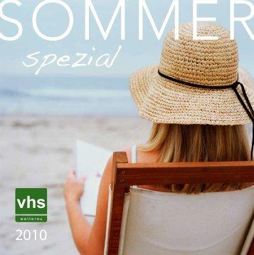 Sprachen - VHS Wetterau