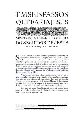 Em Seis Passos Que Faria Jesus