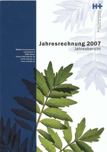 Jahresbericht 2007 - Veska