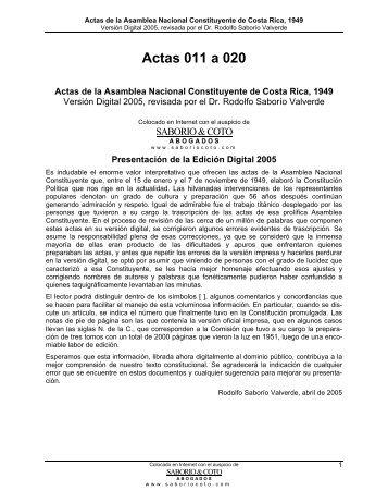 ACTA Nº 61 - Centro de Estudios Superiores de Derecho Público
