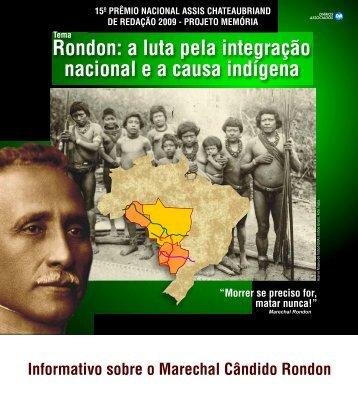 a luta pela integração nacional ea causa indígena - Cprepmauss ...