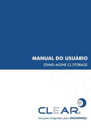 MANUAL DO USUÁRIO - CLEAR CFTV