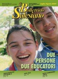 bs luglio/agosto 2007 - Bollettino Salesiano - Don Bosco nel Mondo