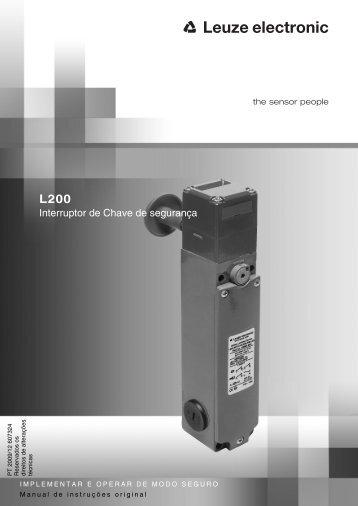 Interruptor de Chave de segurança - Leuze electronic