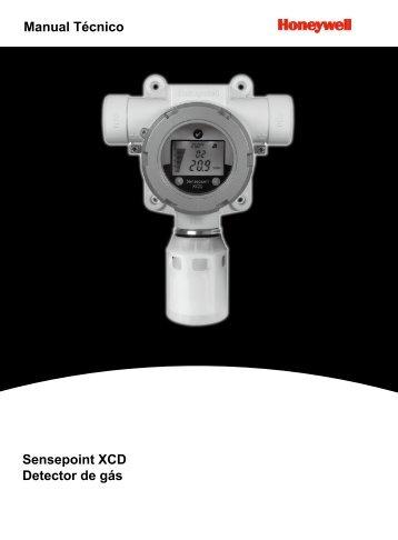 Manual Técnico Sensepoint XCD Detector de gás - Digimed