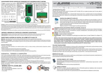 Manual VS-250 Lite - Vetti