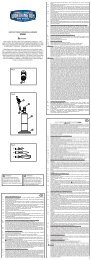 INSTRUCTIONS FOR MODEL NUMBER WTS601 Fig 1 1 Fig 2 2 6 3 ...