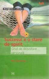 Succesul e o stare de spirit - Motivation 4 You