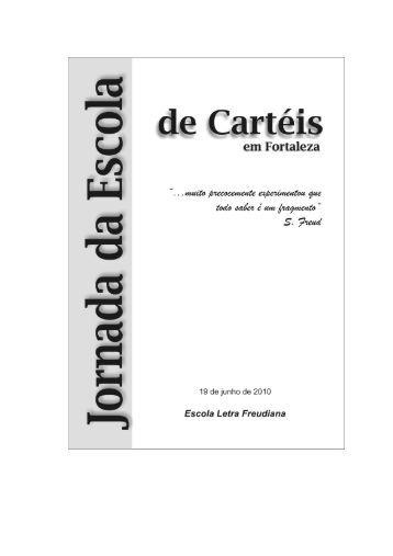 Jornada de Cartéis em Fortaleza – 2010 - Escola Letra Freudiana
