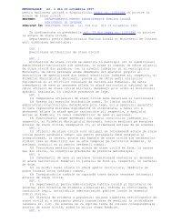 METODOLOGIA nr. 1/1997 pentru aplicarea unitară a