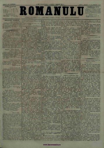 Românul – 12 aprilie 1866