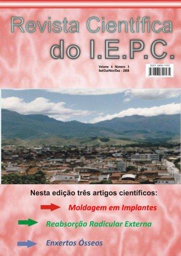 Revista-Cientifica-d.. - Instituto de Ensino e Pesquisa de Cruzeiro