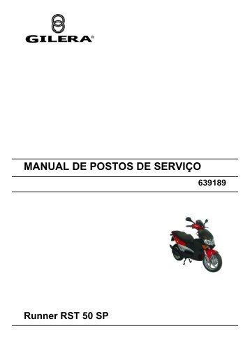 MANUAL DE POSTOS DE SERVIÇO Runner RST 50 SP