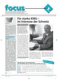 Für starke KMU – im Interesse der Schweiz - Vereinigung der ...