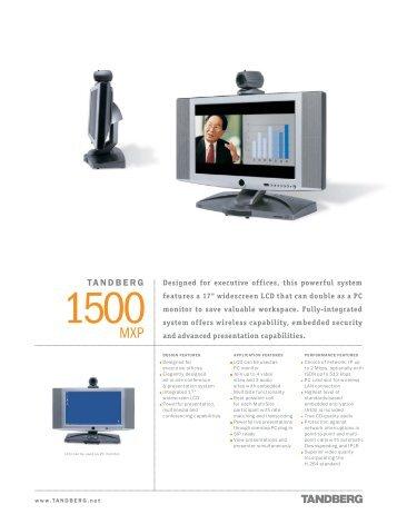 tandberg 770 880 990 mxp videokonferenz videoconferencia rh yumpu com Tandberg 1000 TANDBERG 3000
