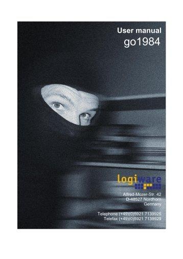 go1984 User manual - Vidofon
